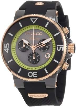 Mulco Unisex MW3-11009-025 Ilusion Ceramic Chronograph Swiss Movement Watch