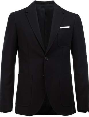 Neil Barrett fitted blazer