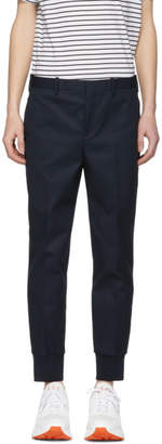 Neil Barrett Navy Pantaloni Trousers
