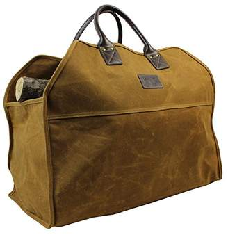 INNO STAGE Heavy Duty Wax Canvas Log Carrier Tote