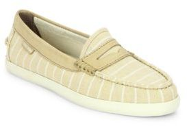 Cole Haan Pinch Weekender Canvas Loafers $90 thestylecure.com