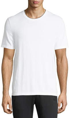 Michael Kors Cotton T-Shirt with Tipping