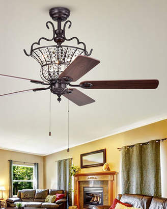 Home Accessories Crystal Chandelier Ceiling Fan