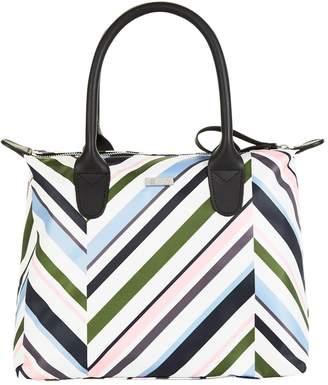 Harrods Chevron Small Packaway Tote Bag