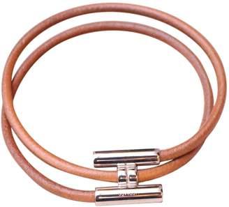 Hermes Tournis leather jewellery