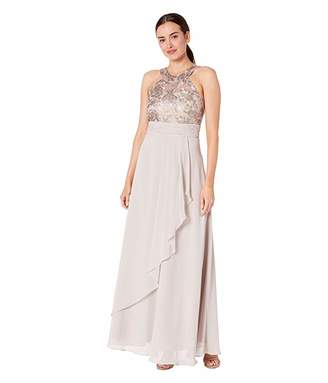 Calvin Klein Lace Bodice Gown
