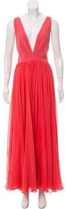 Gucci Silk Maxi Dress