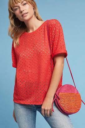 Anthropologie Chantal Lace Top $58 thestylecure.com