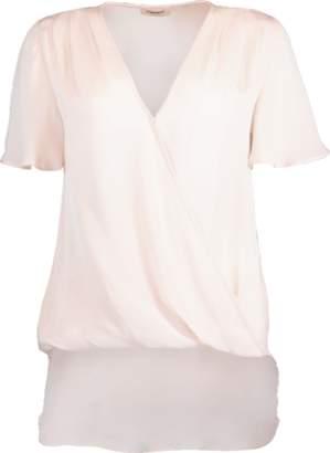 L'Agence Karen Flutter Sleeve Blouse