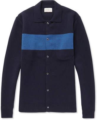 Oliver Spencer Roxwell Wool Cardigan