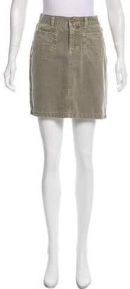 Paul & Joe Denim Mini Skirt