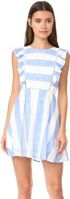 J.O.A. Frill Sleeve Dress $88 thestylecure.com