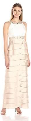 Jessica Howard Women's Beaded Dress with Artichoke Skirt $108 thestylecure.com