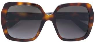 Gucci printed frame sunglasses