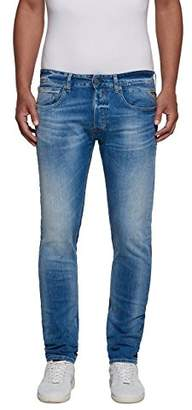 Replay Men's Grover Jeans Blue Denim 9, 31 W/32 L