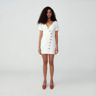 Fame & Partners Side Buttoned Dress
