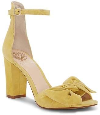 Vince Camuto Women's Carrelen Suede Bow Block Heel Sandals