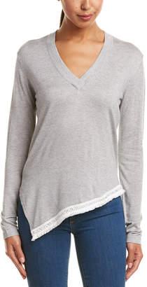 Derek Lam 10 Crosby Chain Fringe Silk & Cashmere-Blend Sweater