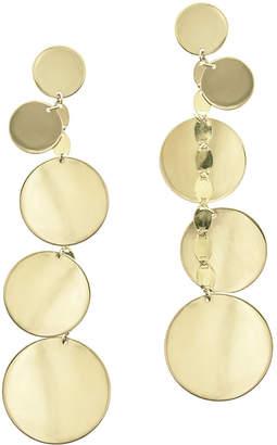 Lana Five-Disc Linear Drop Earrings