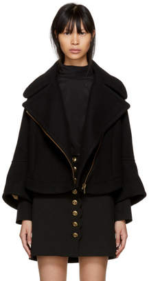 Chloé Black Short Zipped Pocket Jacket