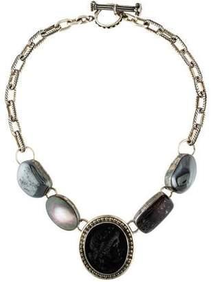 Rebecca Collins Multi Stone Necklace