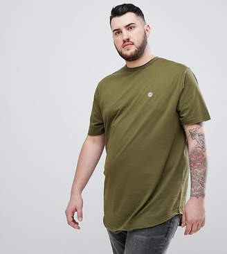 Le Breve PLUS Raw Edge Longline T-Shirt