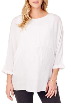 Ingrid & Isabel R) Double Layer Maternity/Nursing Top