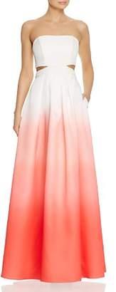 Decode 1.8 Ombré Cutout Gown
