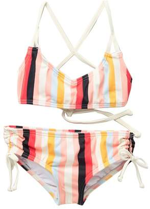 Billabong Come On By Two-Piece Swimsuit (Little Girls & Big Girls)