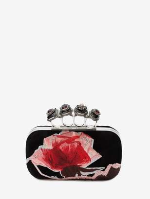 Alexander McQueen Spider Jewelled Four Ring Box Clutch