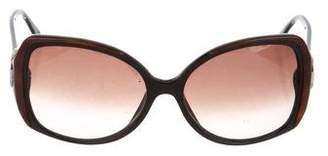 Bvlgari Oversize Tinted Sunglasses