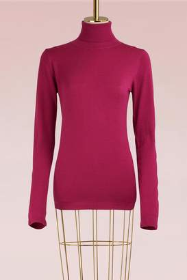 Le Bon Marche Pure virgin wool turtleneck sweater