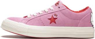Converse One Star Ox Prism Pink/Fiery Red