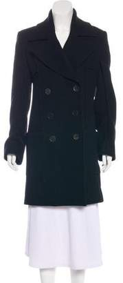 Ann Demeulemeester Structured Wool Coat