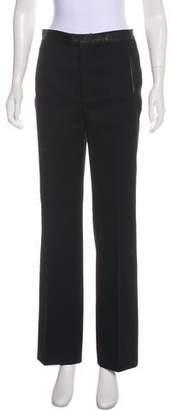Sophia Kokosalaki Mid-Rise Wide-Leg Pants