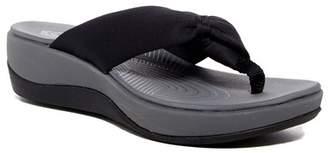 Clarks Arla Glison Wedge Thong Sandal