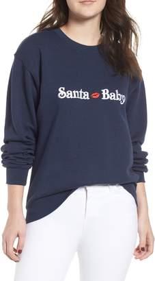 Sub Urban Riot Sub_Urban Riot Santa Baby Willow Sweatshirt