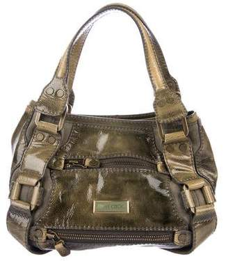 Jimmy Choo Patent Leather Handle Bag