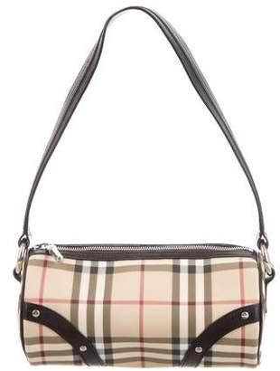 e1085440f68 Burberry Studded Nova Check Shoulder Bag
