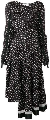 3.1 Phillip Lim Floral Gathered Dress