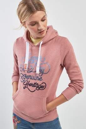 Next Womens Superdry Ombre Logo Hoody