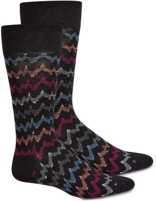 Perry Ellis Men Chevron Socks