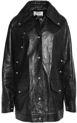 Acne Studios Textured Leather Jacket