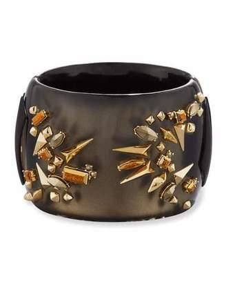 Alexis Bittar Studded Hinge Cuff Bracelet $425 thestylecure.com