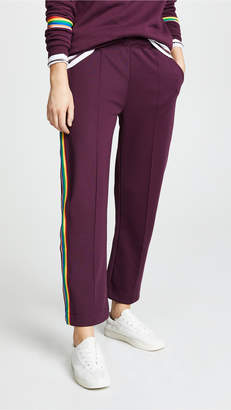 Etre Cecile Rib Crop Retro Track Pants