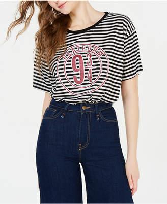 Modern Lux Juniors' Platform 9-3/4 Striped T-Shirt