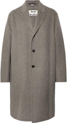 Acne Studios Chad Oversized Wool Coat - Men - Gray