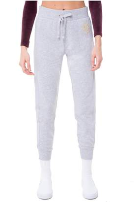 Juicy Couture French Terry Regal Crest Jogger Pant