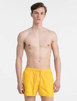 Calvin Klein core solid runner swim shorts