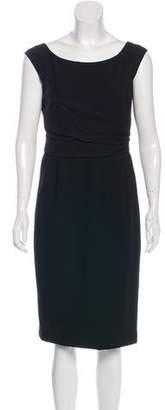 Michael Kors Sleeveless Sheath Midi Dress